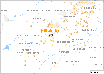 map of Kings West