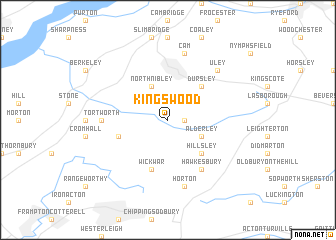 map of Kingswood