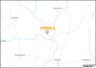 map of Kinhālu