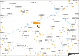 map of Kinianbi
