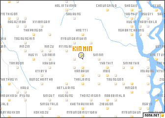 map of Kinmin
