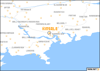 Kinsale Ireland Map Nona Net