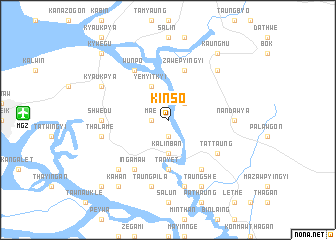 map of Kinso