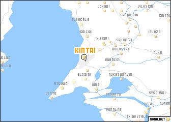 map of Kintai