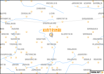 map of Kintrimai