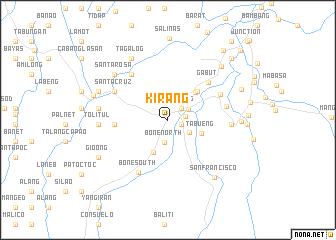 map of Kirang