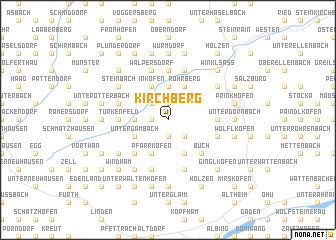 map of Kirchberg