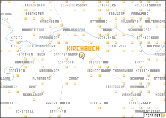 map of Kirchbuch