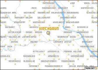 map of Kirchdaun
