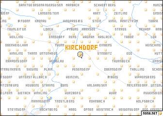 map of Kirchdorf