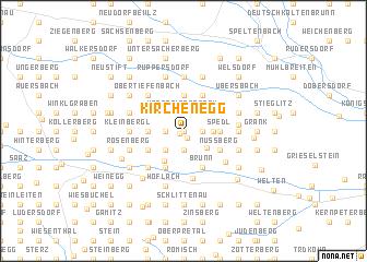 map of Kirchenegg
