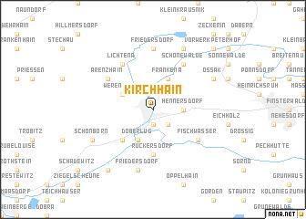 map of Kirchhain