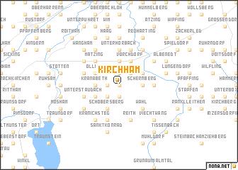 map of Kirchham