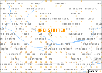 map of Kirchstätten