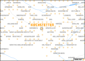 map of Kirchstetten