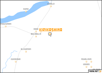 map of Kirikashima