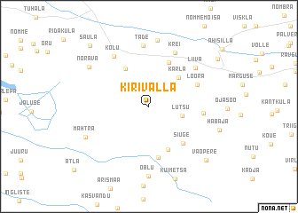 map of Kirivalla