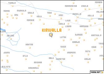 map of Kirivalla