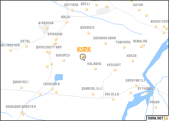 map of Kirk