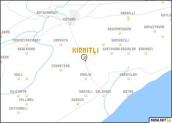 map of Kırmıtlı