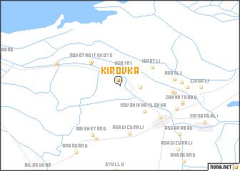 map of Kirovka
