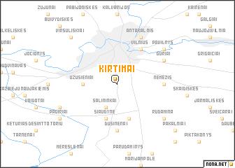 map of Kirtimai