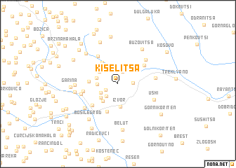 map of Kiselitsa