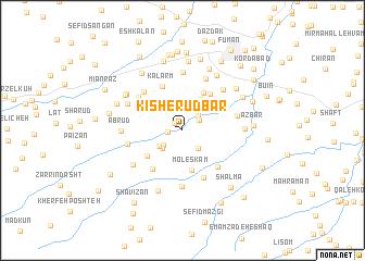 map of Kīsh-e Rūdbār