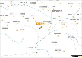 map of Kishkī