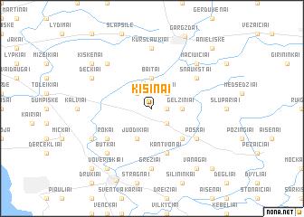 map of Kisinai