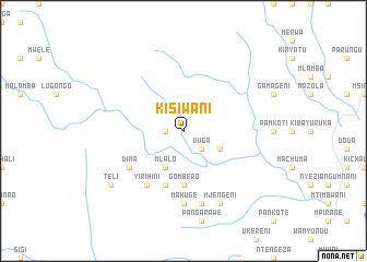 map of Kisiwani
