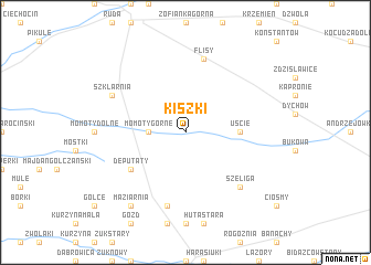 map of Kiszki