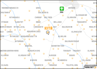 map of Kita