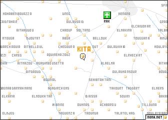 map of Kita