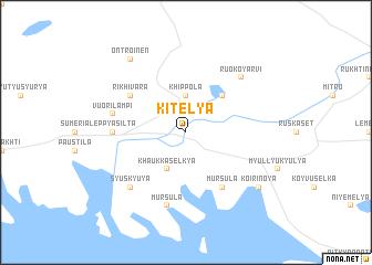 map of Kitelya