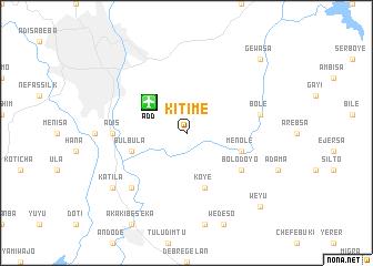 map of Kitimē