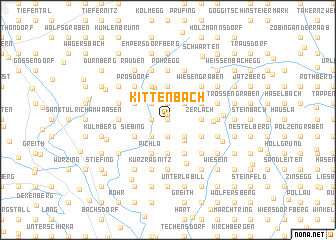map of Kittenbach