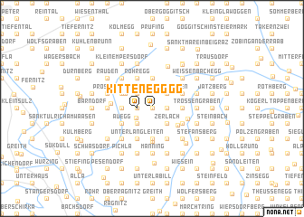 map of Kittenegg