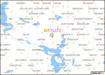 map of Kittlitz