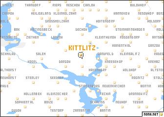 map of Kittlitz