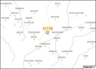 Kitwe Uganda map nonanet