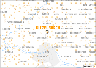 map of Kitzelsbach