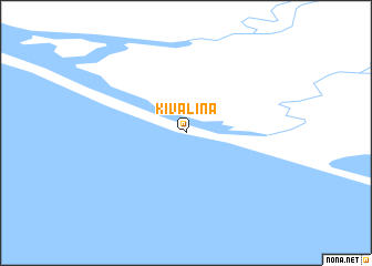 map of Kivalina