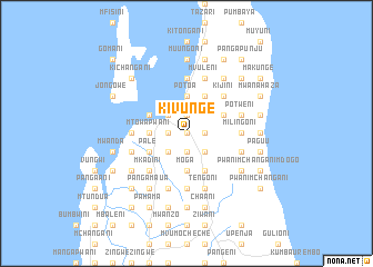 map of Kivunge