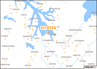 map of Kiyanza