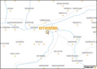 map of Kıyıkonak