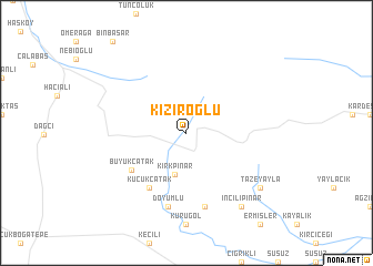 map of Kiziroğlu