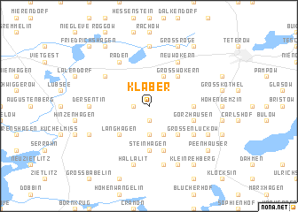 map of Klaber