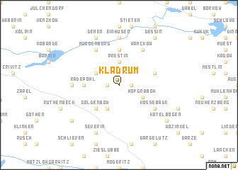 map of Kladrum
