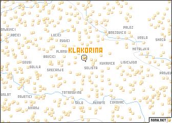 map of Klakorina